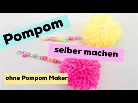 pompons selber machen servietten pompons selber machen s 252 223 e anh 228 nger als diy geschenke