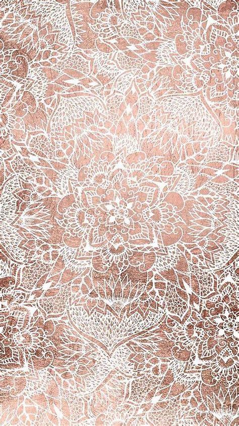 aesthetic rose gold wallpapers  broken panda