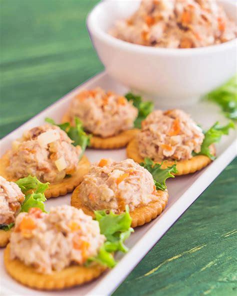 dip canapes receta de paté de atún casero varias recetas divina cocina