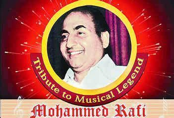 mohammed rafi birthday special top the of mohammad rafi the singing legend rafi