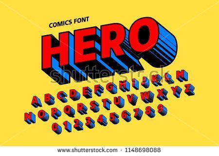 vectorsiconcom  vector icons comics style font