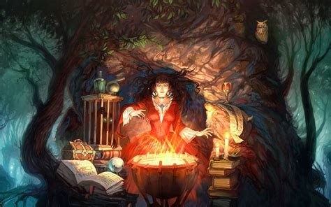 fantasy Art, Witch Wallpapers HD / Desktop and Mobile ...