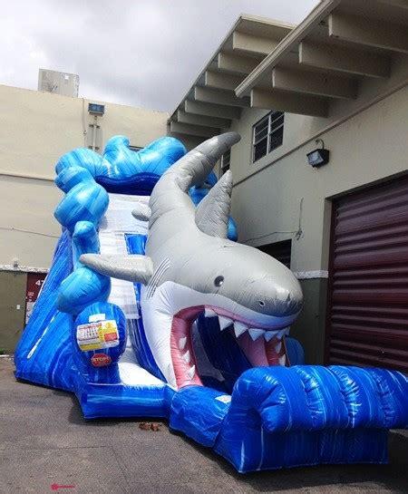 shark water  rentals inflatable  rental
