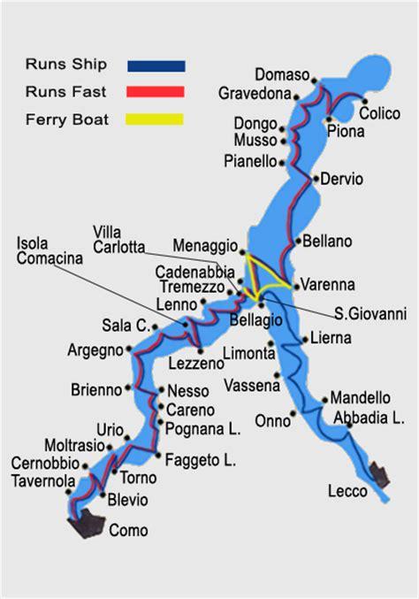 cuisine varenna timetable lake como navigation