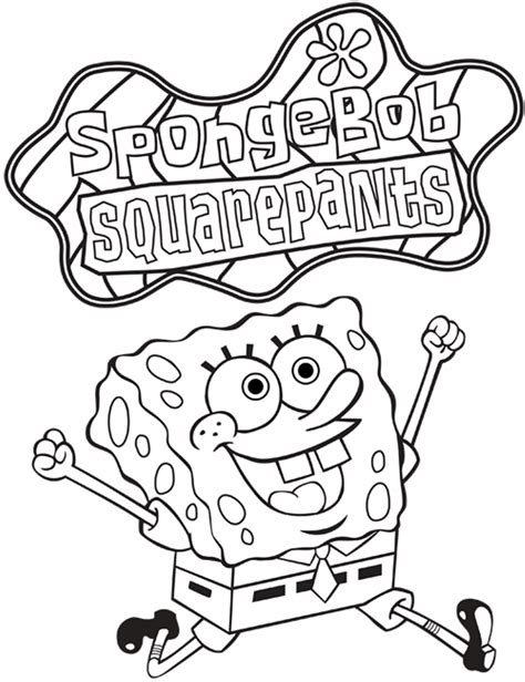 sponge bob coloring pages coloringsuitecom