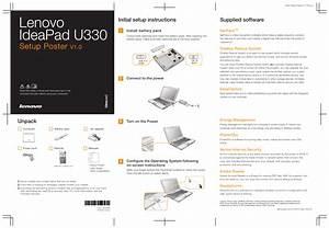 Lenovo Ideapad U330 User Manual