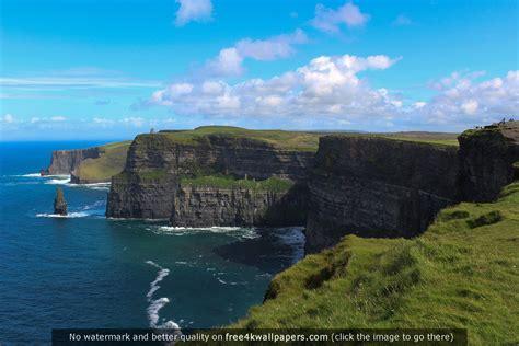 cliffs  moher ireland wallpaper wallpapersafari