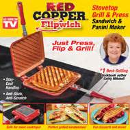 red copper flipwich grill pan  collections