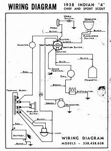 1938 Wire Diagram - Chief - Scout - Four