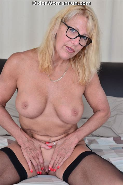 54 Year Old Canadian Milf Looks Gorgeous In Black