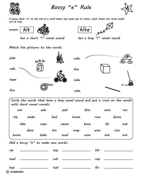 rule bossy e skills interactive activity