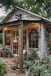 15, Whimsical, Charming, Gardens, Shed, Designs
