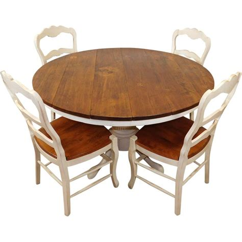 fantastic furniture dining table chairs fantastic rustic primitive pine white 53 quot round kitchen