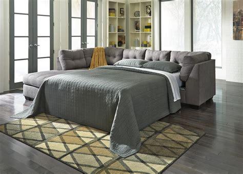 sleeper sofa los angeles maier grey fabric sectional sleeper sofa steal a sofa