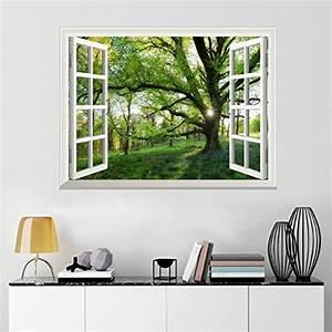 Poster Mural 3d : stickers muraux trompe l 39 oeil ~ Teatrodelosmanantiales.com Idées de Décoration