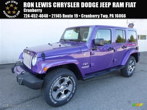 jeep purple 2017 2017 extreme purple jeep wrangler unlimited sahara 4x4