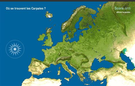 Carte Interactive Des Montagnes De carte interactive d europe montagnes de l europe toporopa