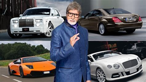 Amitabh Bachchan Cars  Bollywood * Big B * Amitabh