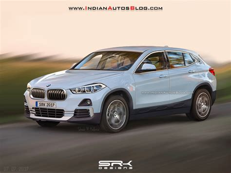 Rear Of The Production Bmw X2 Rendered Based On Patent Leaks