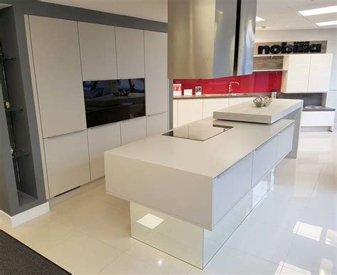 ex display kitchen island for ex display nobilia kitchen with island worktops and some 9657