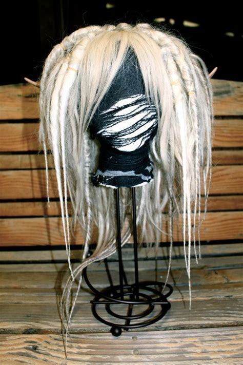 blonde dread wig ready  ship dreads    hippie