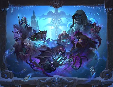Mage Deck Hearthstone Frozen Throne by Hearthstone S Next Expansion Is Knights Of The Frozen