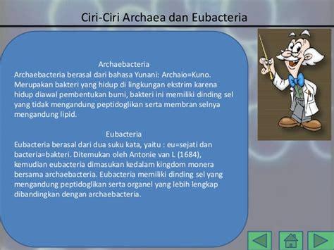 ppt medtek archae dan eubacteria