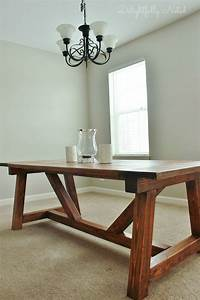 Holy Cannoli We Built A Farmhouse Dining Room Table To