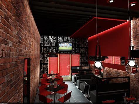 cafe bar interior design  novac natalia  coroflotcom