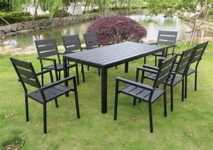 Table Jardin 8 Personnes : table de jardin 6 8 personnes ~ Teatrodelosmanantiales.com Idées de Décoration