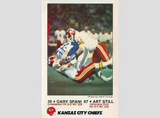 1984 Kansas City Chiefs Police Football Gallery The