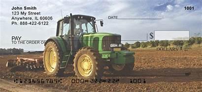 Tractors Deere John Checks Classic Personal 123cheapchecks