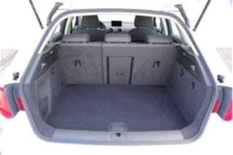 audi a3 sportback kofferraumvolumen adac auto test audi a3 sportback 1 6 tdi ultra attraction