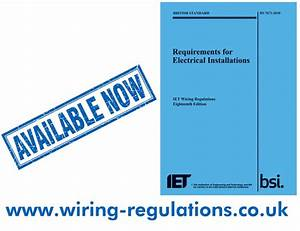 18th Edition Wiring Regulations Archives