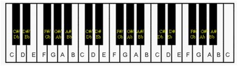 Free Piano Keyboard Diagram Print Out For Your Students