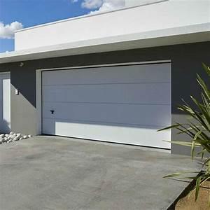 Porte De Garage Novoferm : porte garage sectionnelle lisse novoferm iso20 ~ Dallasstarsshop.com Idées de Décoration