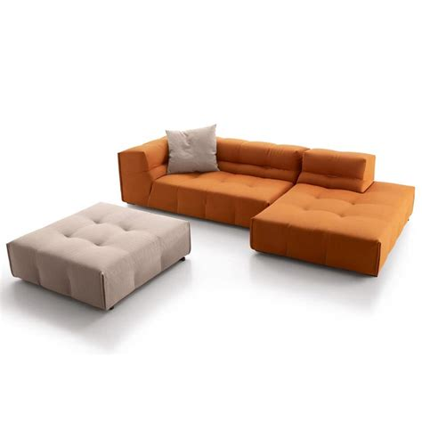 sofá chat show sofa tufty too by b b italia