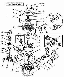 Valve Assembly Diagram  U0026 Parts List For Model 625348670