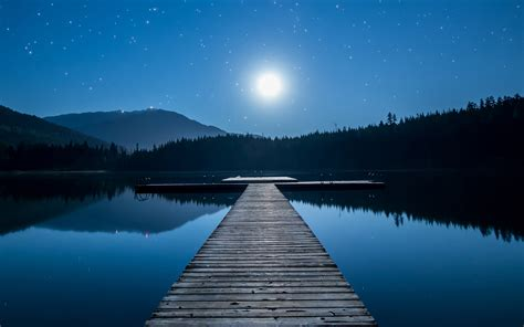 lake view moon  wallpapers hd wallpapers id