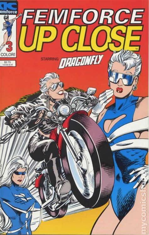 femforce  close  comic books