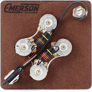 Emerson Custom Prewired Kit For Gibson Sg Guitars