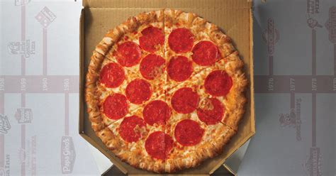 pizza history dominos pizza hut  caesars facts