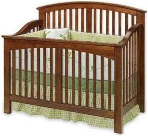 nursery baby convertible crib woodworking plans cutting list drawing included ebay