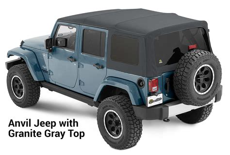 choose  colored soft top   jeep wrangler