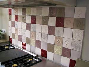cuisine carrelage mural cuisine carreaux et faience With model de faience pour cuisine