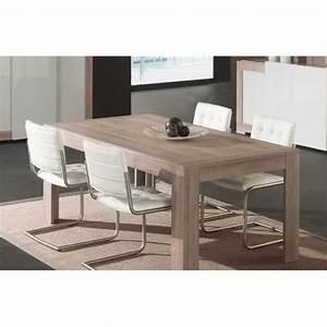 Table Chene Gris : table manger gris laqu et couleur ch ne gris moderne ~ Teatrodelosmanantiales.com Idées de Décoration