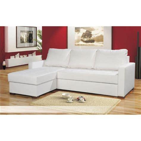 canape cuir blanc angle photos canapé d 39 angle convertible cuir blanc