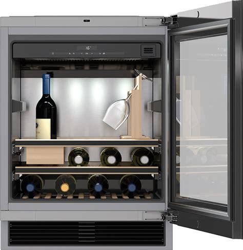 miele model  kwt  ugs  counter wine fridge  sommelier set caplans