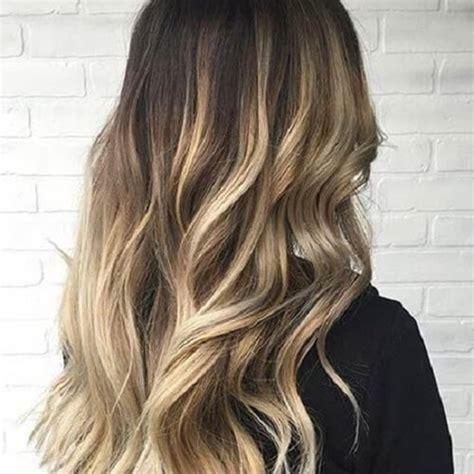 farbverlauf haare braun blond 50 stilvolle vorschl 228 ge f 252 r braune haare mit blonden str 228 hnen