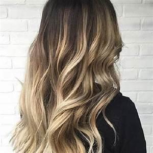 Balayage Blond Braun : 50 stilvolle vorschl ge f r braune haare mit blonden str hnen ~ Frokenaadalensverden.com Haus und Dekorationen